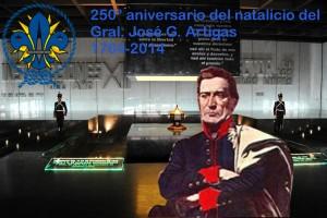 Homenaje Gral Artigas SDU