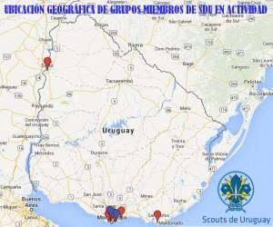 Mapa ubicacion Grupos SDU