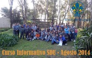 Curso Informativo SDU Agosto 2014