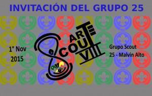 Arte Scout 2015 Grupo 25