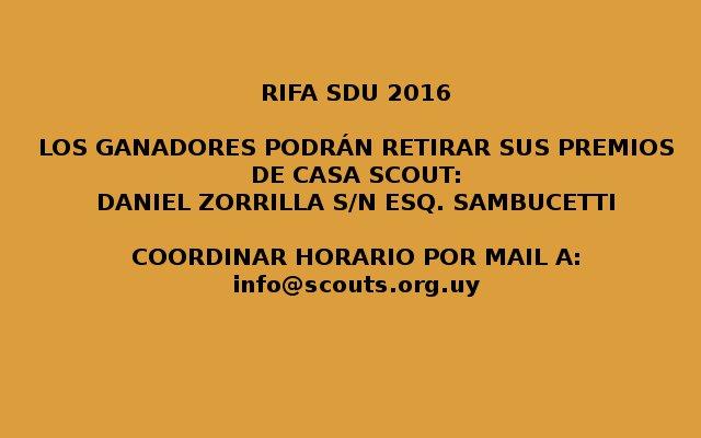 RIFA-SDU-2016